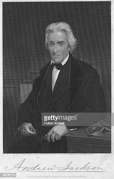 Portrait of Andrew Jackson , the 7th President of the United States.