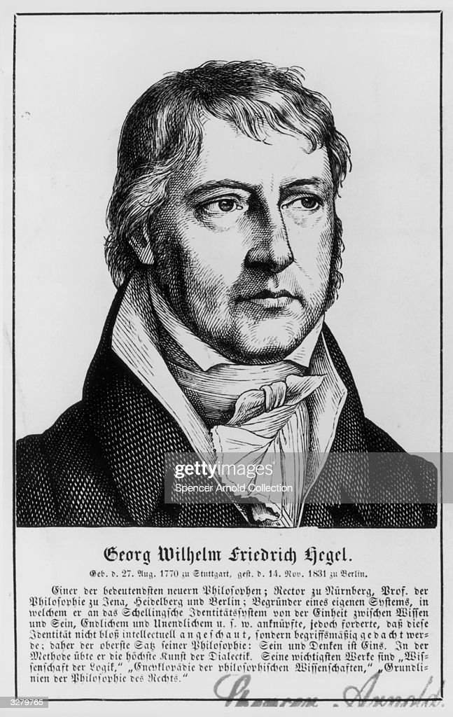 Georg Hegel : News Photo