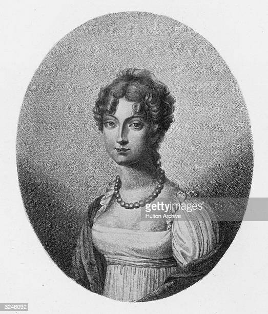 Marie-Louise , archduchess of Austria and daughter of Emperor Francis II. She married Napoleon I on April 2 1810, becoming Empress of France and gave...