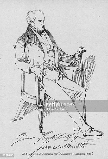 James Smith English poet and writer With his brother Horatio Smith 17791849 wrote 'Rejected Addresses or the New Theatrum Poetarum' 1812 a burlesque...