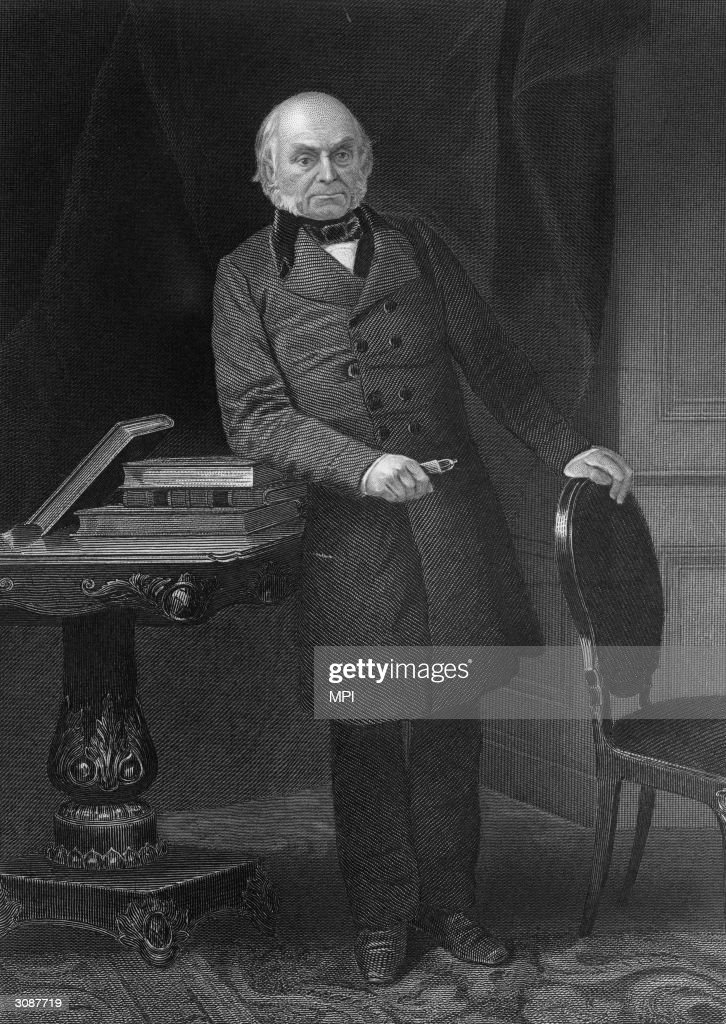John Quincy Adams : News Photo