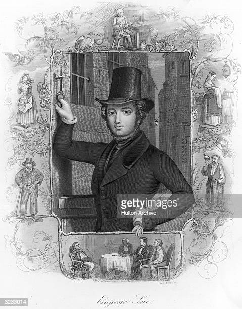 Eugene Sue French novelist who given name was MarieJoseph Sue He is best known for his sensational tales of the Parisian underworld including 'The...