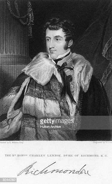 Charles Gordon Lennox 5th Duke of Richmond assistant military secretary to Wellington in Portugal 181014 during the Peninsular War England's...