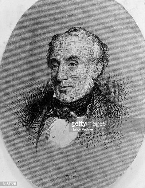 The English Romantic poet, William Wordsworth who was born in Cockermouth, Cumberland.