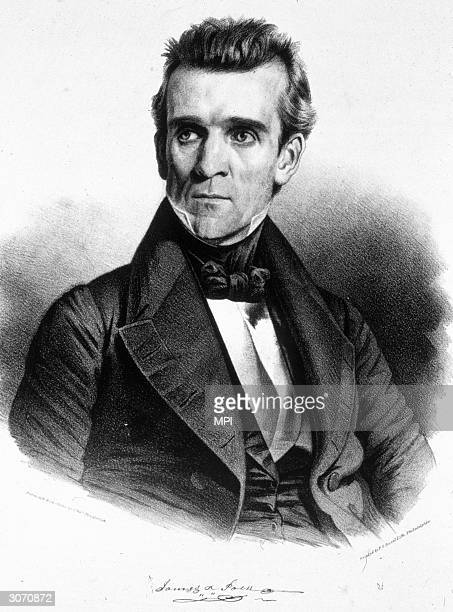 James Knox Polk the 11th president of the United States A former governor of Tennessee he led his country to victory in the MexicanAmerican War