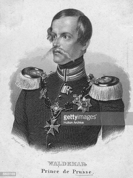 Waldemar Prince of Prussia a member of the Hohenzollern dynasty