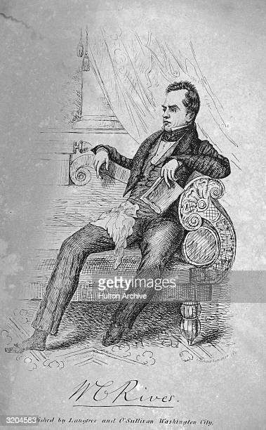 William Cabell Rives American politician Born in Virginia studied law and in practice from 1814 Member US House of Representatives 182329 US minister...
