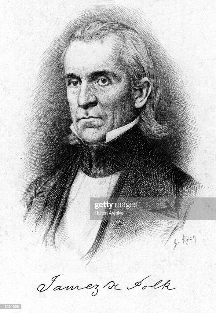 James Knox Polk : News Photo