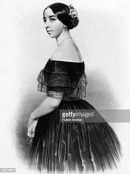 Michelle Ferdinande Pauline ViardotGarcia the Spanish opera singer who was the mistress and muse of author Ivan Turgenev