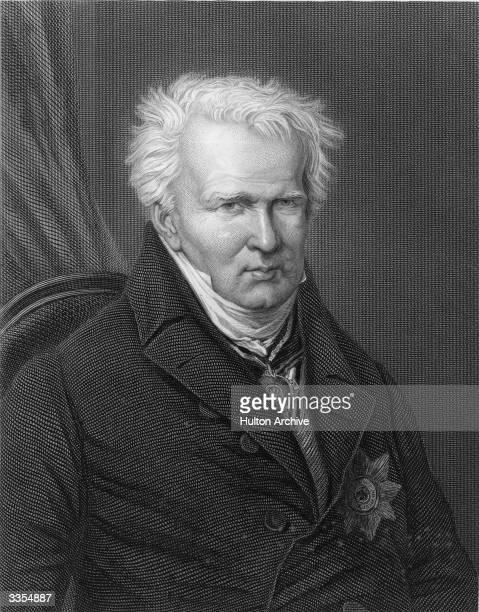 German naturalist Baron Alexander von Humboldt