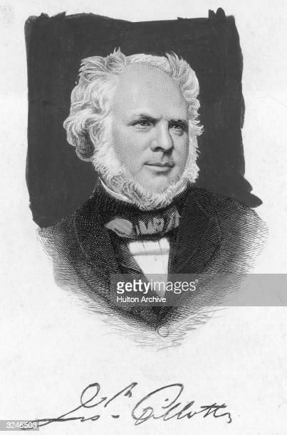 Industrialist Joseph Gillott who pioneered the mass production of steel pens
