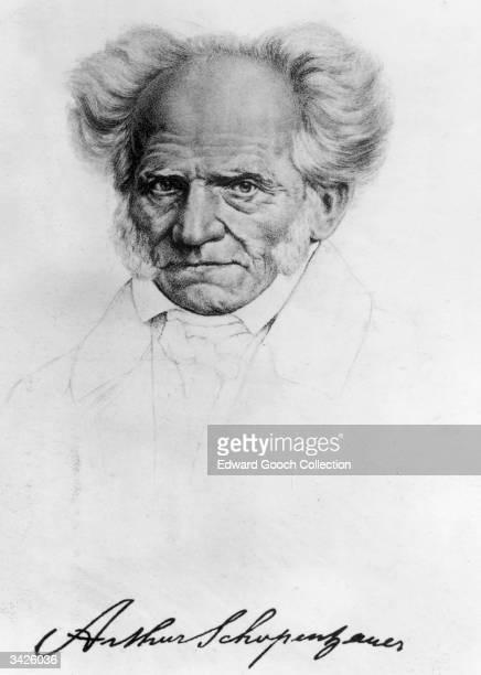 German philosopher Arthur Schopenhauer