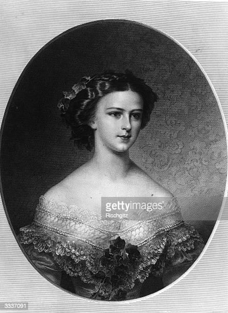 Empress Elisabeth of Austria Elisabeth Amalie Eugenie wife of Franz Josef I