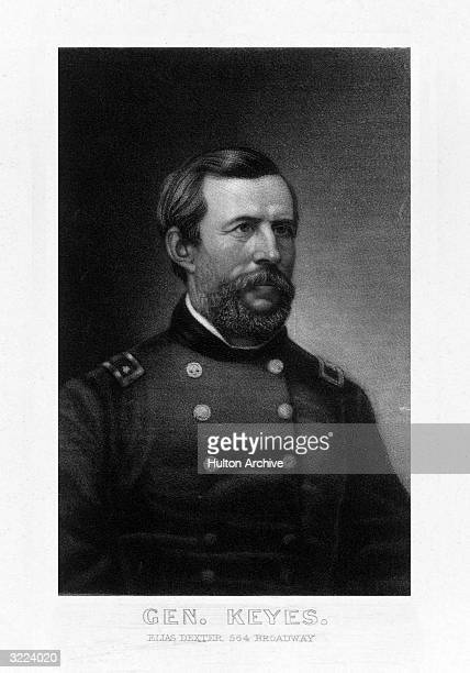Erasmus Darwin Keyes American soldier West Point secretary to General Scott 186061 commanded brigade at First Bull Run and at Fair Oaks 1862