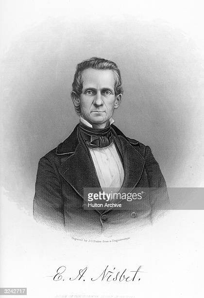 Eugenius Aristides Nisbet American lawyer jurist and politician