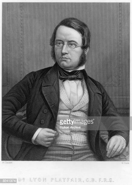 Sir Lyon Playfair British chemist and politician Professor of chemistry at the University of Edinburgh 1858 MP 1868 deputy speaker of the House of...