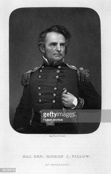 Gideon Johnson Pillow American lawyer and soldier from Tennessee In the Mexican War 184647 was made brigadier general of Volunteers by President Polk...