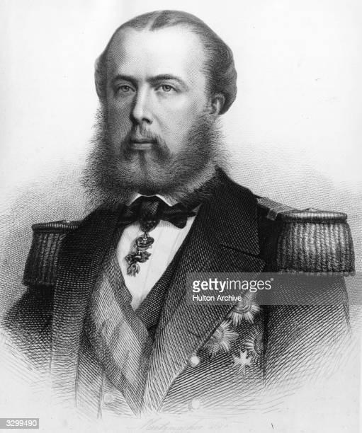 The Emperor of Mexico Archduke Ferdinand-Joseph Maximilian younger brother to Emperor Franz Joseph I of Austria.