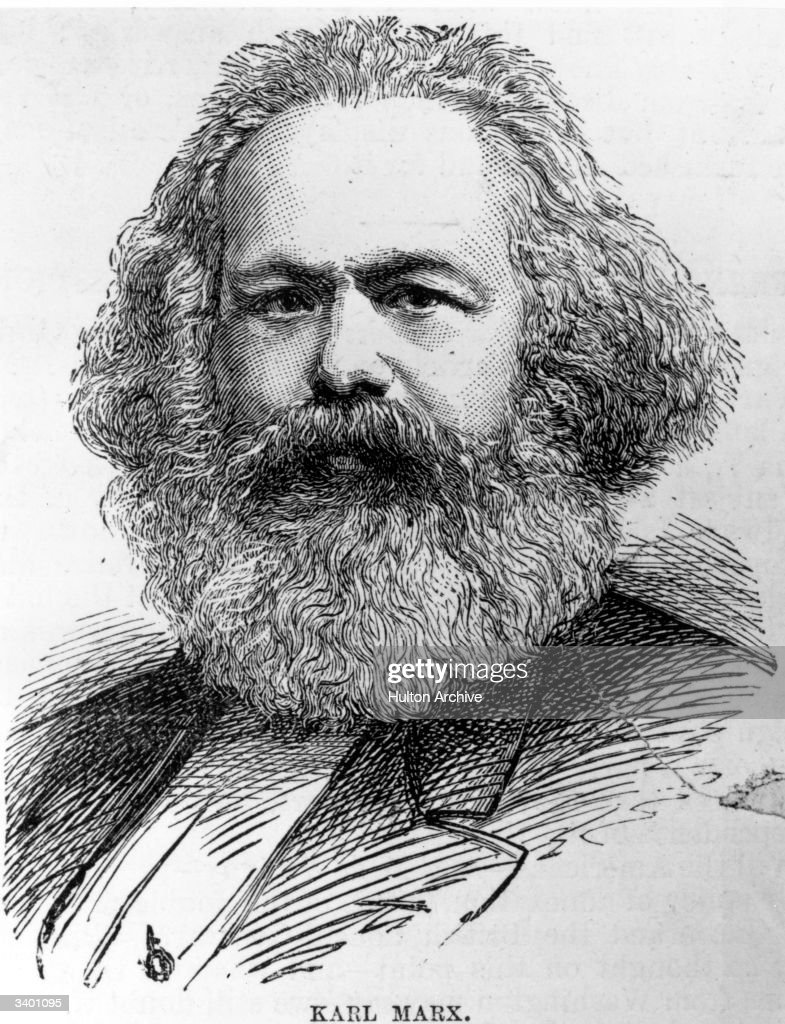 Karl Marx : News Photo