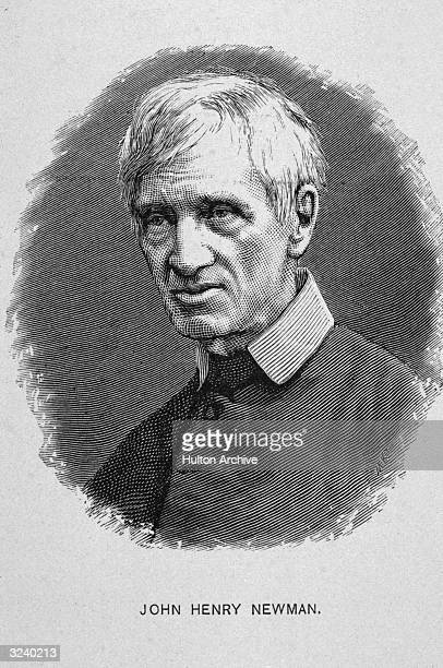 Oval Engraving, John Henry Newman . English prelate and theologian. Acknowledged leader of the Tractarian, or Oxford, movement. Maintained that the...