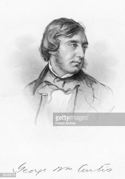 American publisher and writer George William Curtis worked at the 'New York Tribune' in 1851 'Putnam's Monthly' from 185257 'Harper's Weekly' in 1860...