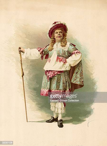 Benot Constant Coquelin French comic actor writer and director as Mascarille in 'Precieuses Ridicules' His most famous role was Cyrano de Bergerac