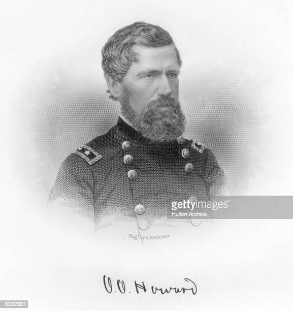 Oliver Otis Howard American soldier Fought in the Civil War and during Reconstruction was Commissioner of Bureau for Freedmen and Abandoned Lands...