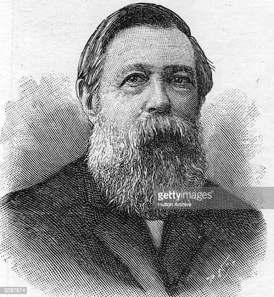 Friedrich Engels , German socialist, resident in England from 1842. He collaborated with Marx on the Communist Manifesto . After Marx's death in...