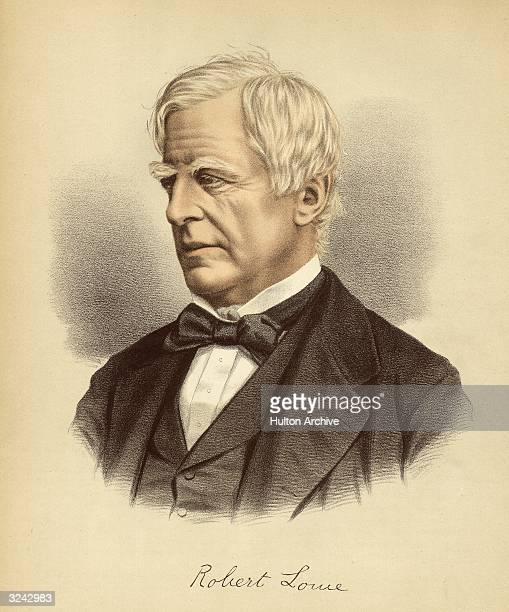 Robert Lowe . English politician, lawyer, Sydney, Australia Liberal M.P., 1852-80, Chancellor of the exchequer, 1868-73, home secretary, 1873.