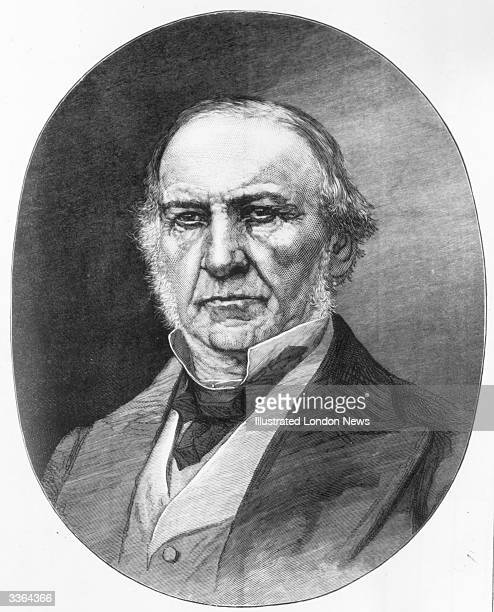 William Ewart Gladstone British statesman four times Prime Minister of Great Britain one of the dominant political forces of Victorian Britain