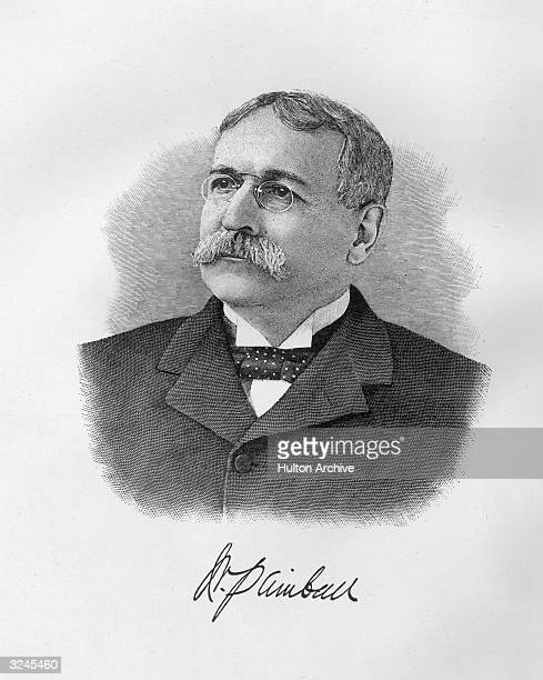 William Smith Kimball American tobacco manufacturer appointed master mechanic in Union Navy resigned in 1863 and took up tobacco production and...