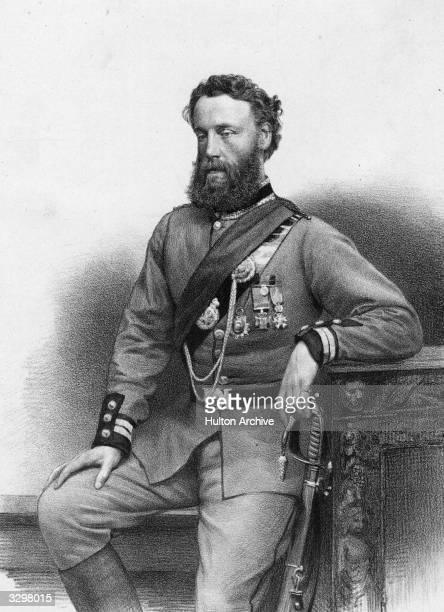 British soldier politician and 1st Baron of Wantage Robert James LoydLindsay