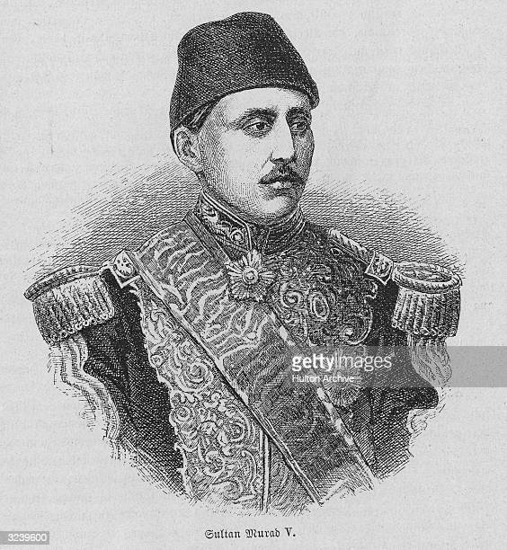 Murad V Sultan of the Ottoman Empire in 1876 he suffered a mental collapse and was replaced after three months by his brother Abdul Hamid II who...