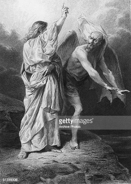 Circa 25 AD Satan the JudeoChristian personification of evil chief of the angels who rebelled against God and was cast out of Heaven Here The devil...