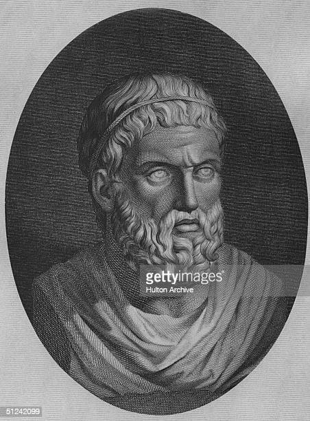 Circa 400 BC, Sophocles , a popular Greek dramatist of the 5th century BC.