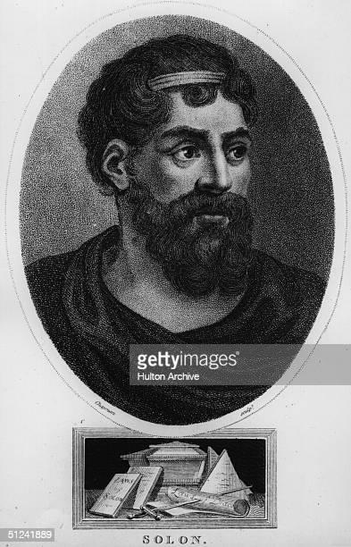 Circa 570 BC, Solon, Athenian statesman and legislator .