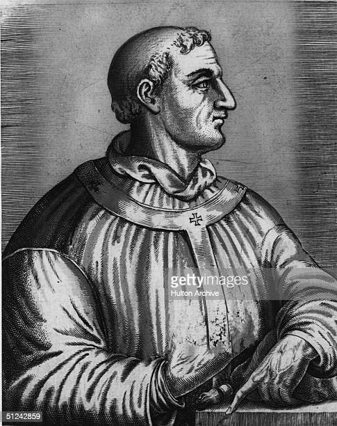 Circa 590 AD Pope Gregory the Great who introduced the Gregorian chant