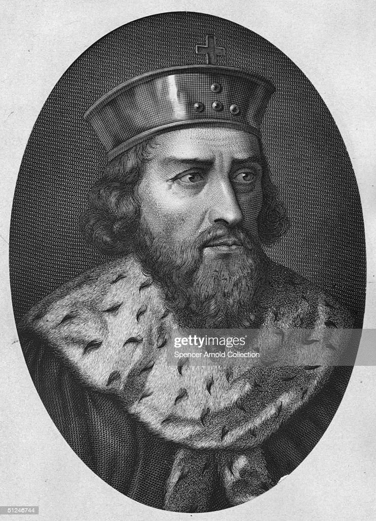 Circa 900 AD, Alfred the Great, King of England (849 - 901).