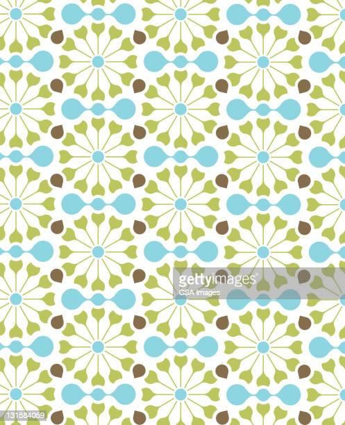 circle pattern - pattern stock illustrations