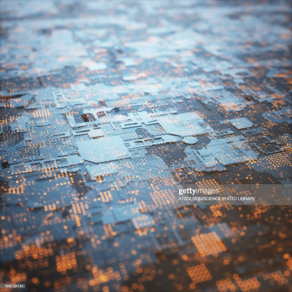 Circuit Board Illustration Stock Getty Images
