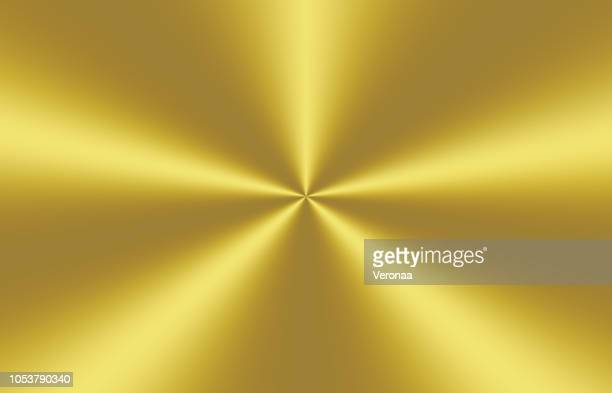 circular brushed gold background - metal industry stock illustrations