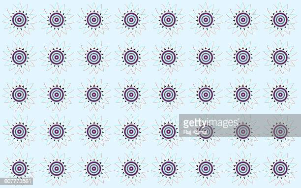 circular shapes pattern - parallel stock illustrations, clip art, cartoons, & icons
