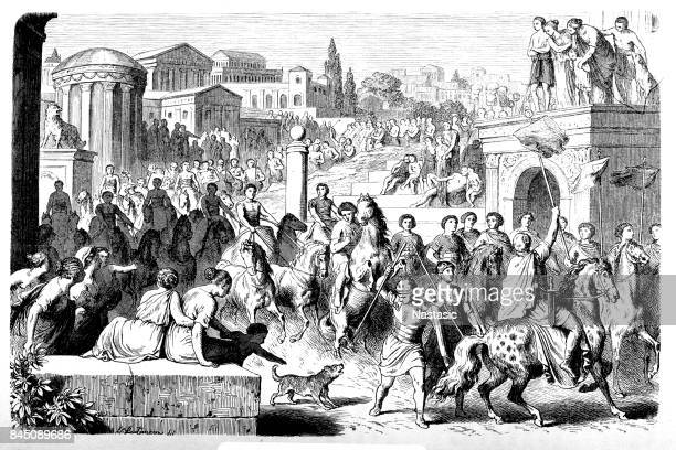 Circus for the feast of the Roman Games