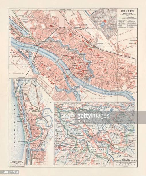 Map Of Bremen Germany.60 Top Bremen Stock Illustrations Clip Art Cartoons Icons