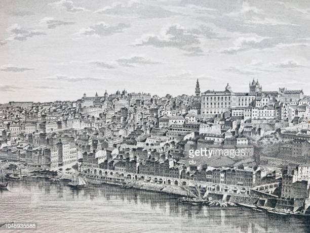 ilustrações, clipart, desenhos animados e ícones de cidade do porto, portugal - portugal