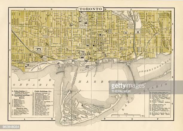 City plan of Toronto 1894
