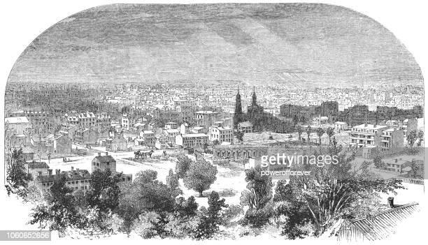 Cityscape of Washington D.C., United States (1859)