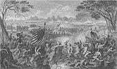 Civil War Engraving Newbern - 1863 19th Century