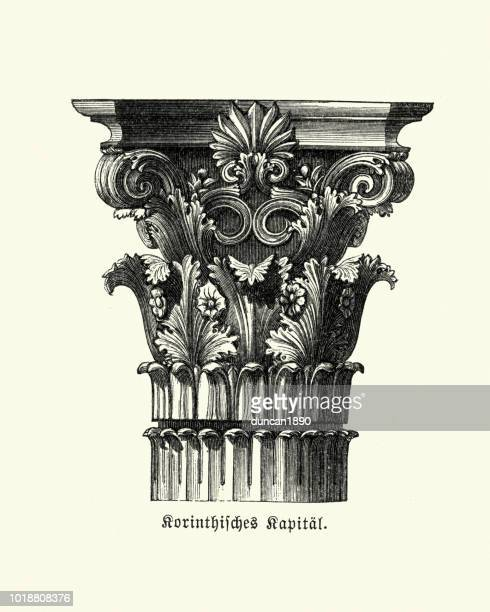 Classical Architecture, Corinthian order, Column Capital