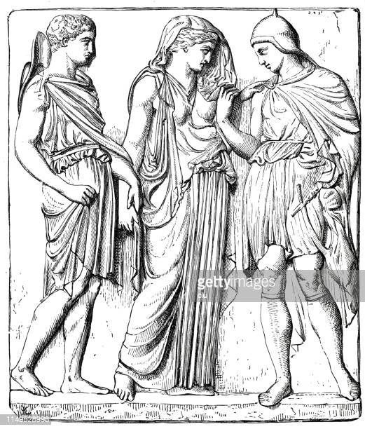 Classical greek, Eurydice and Orpheus